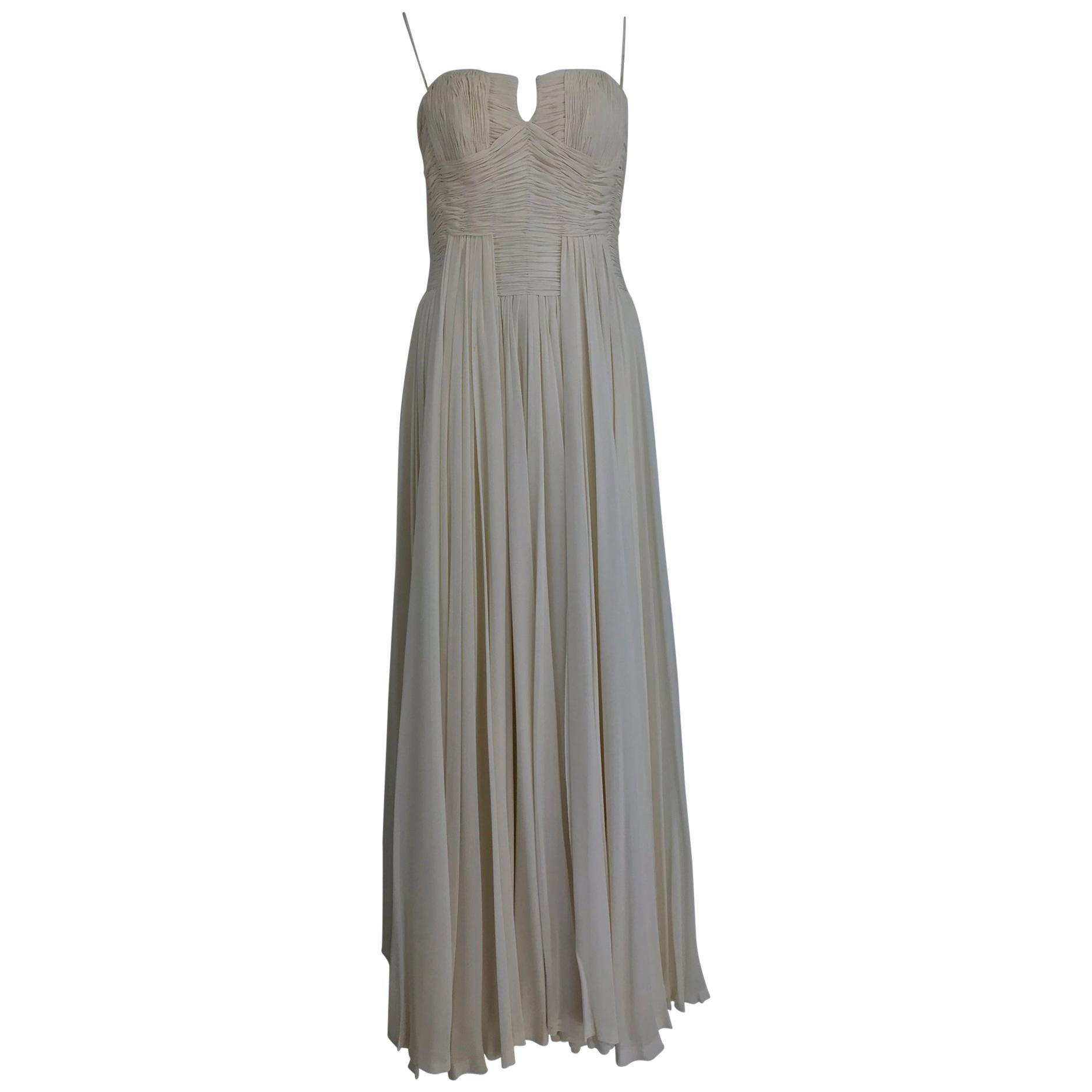 Silk Chiffon Evening Dresses