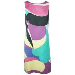 Emilio Pucci Sleeveless Shift Dress - 10