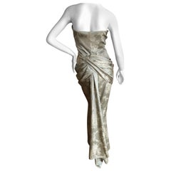 Givenchy Haute Couture by Alexander McQueen Skirt and Bustier Evening Ensemble