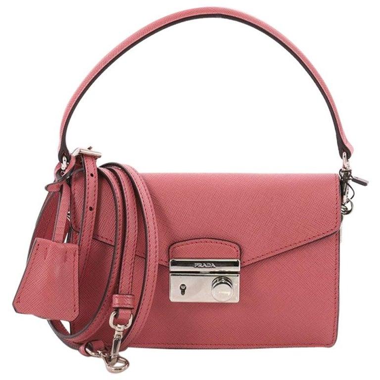 95e9e39863f9 Prada Convertible Sound Bag Saffiano Leather Mini at 1stdibs