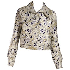 Multicolor Giambattista Valli Brocade Jacket