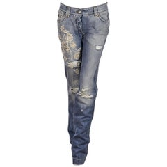 Light Wash Dolce & Gabbana Distressed Jeans