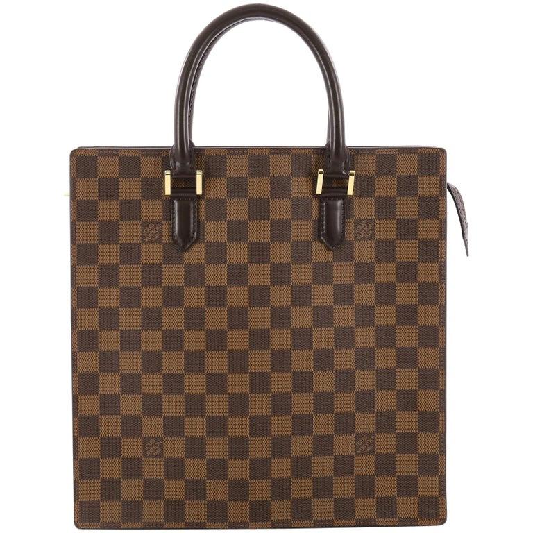 2b3bf968072f Louis Vuitton Venice Sac Plat Handbag Damier PM at 1stdibs