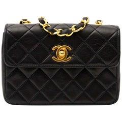 Chanel Mini Vintage Lambskin Crossbody Classic Flap Bag