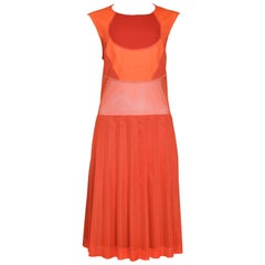Junya Watanabe 2012 Orange & Red Athletic Dress