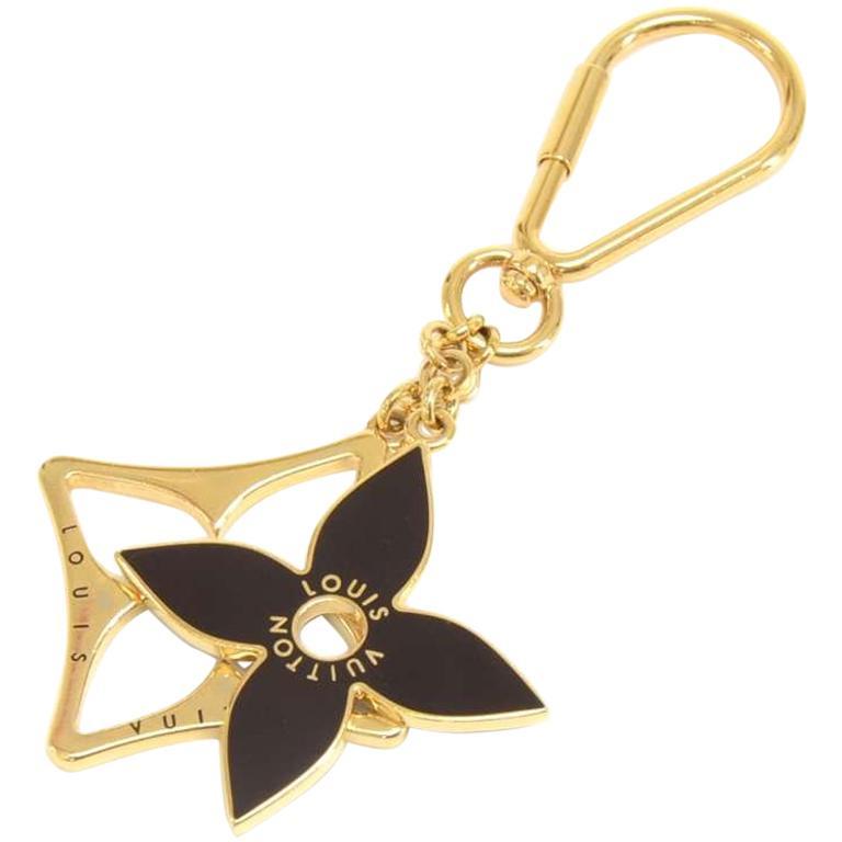 Louis Vuitton Porte Puzzle Gold Tone Key Holder / Bag Charm
