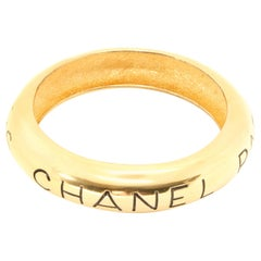 Chanel 1990s Statement Bangle Bracelet