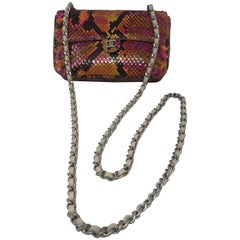 Chanel Python Mini Multicolor Crossbody Bag