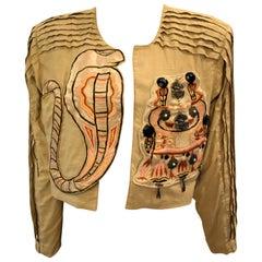 Vintage Korii Joko Japanese Cobra Jacket 1980's