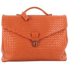Bottega Veneta Envelope Briefcase Intrecciato Nappa Large