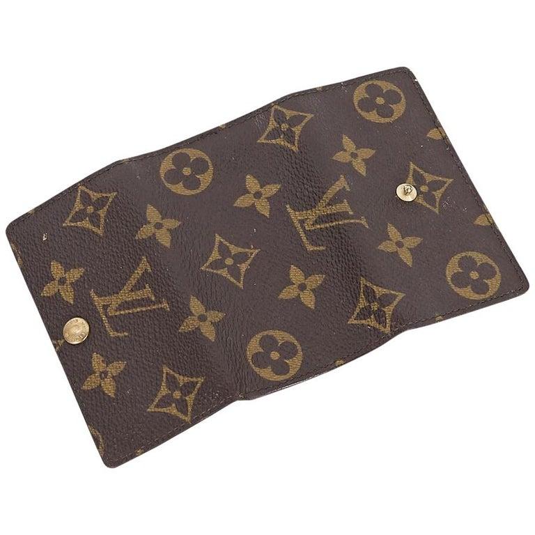 d38ae30cc315 Brown Vintage Louis Vuitton Monogram Key Holder For Sale at 1stdibs
