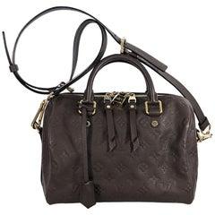 Louis Vuitton Brown Empreinte Speedy 25 Bag