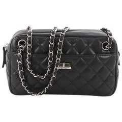 Chanel Reissue Camera Bag Quilted Caviar East West