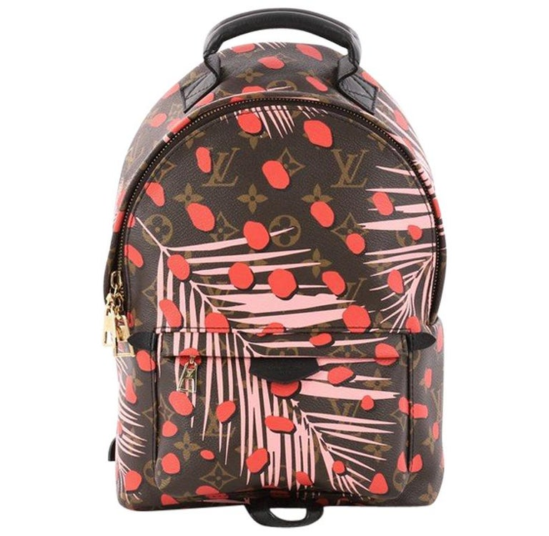 Louis Vuitton Palm Springs Backpack Limited Edition Jungle Dots PM