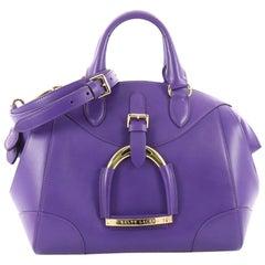 Ralph Lauren Collection Stirrup Bedford Handbag Leather Small