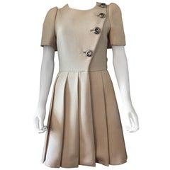 Prada Runway cream ivory Dress