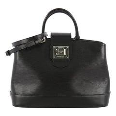 Louis Vuitton Mirabeau Handbag Epi Leather PM