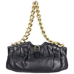 Black Jimmy Choo Leather Shoulder Bag