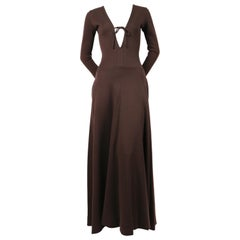 1960's RUDI GERNREICH dress with plunging neckline