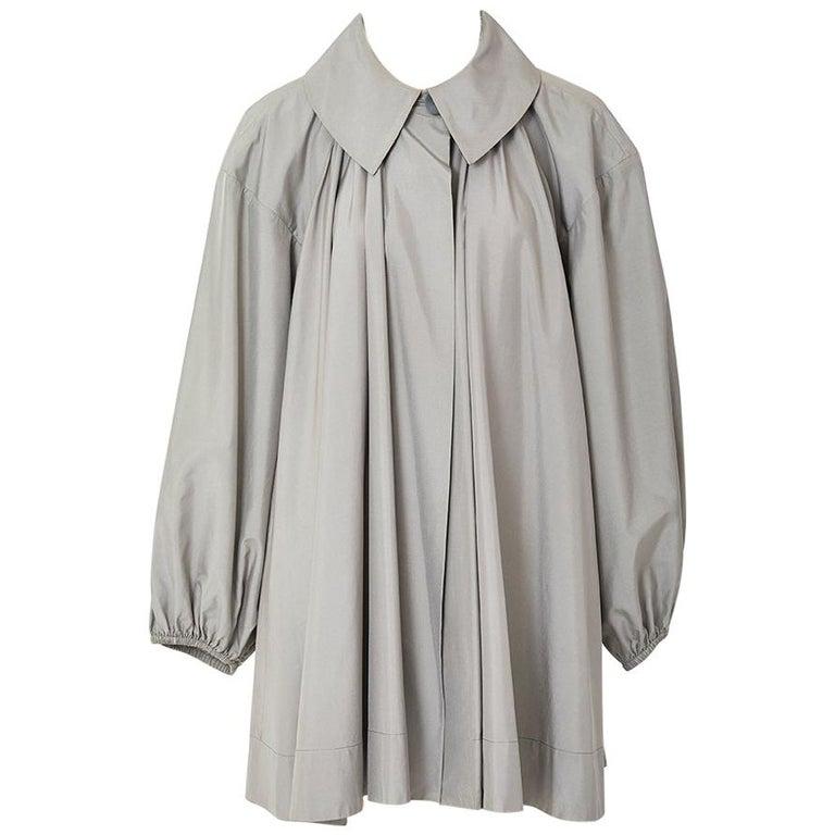 Yves Saint Laurent Taffeta Swing Jacket For Sale