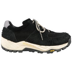 OUR LEGACY Sneakers - Size 10 Black Textured Suede Vibram RollinGait Trainers
