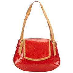 Louis Vuitton Red Vernis Biscayne Bay PM