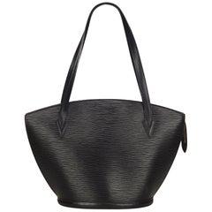 Louis Vuitton Black Epi Saint Jacques GM