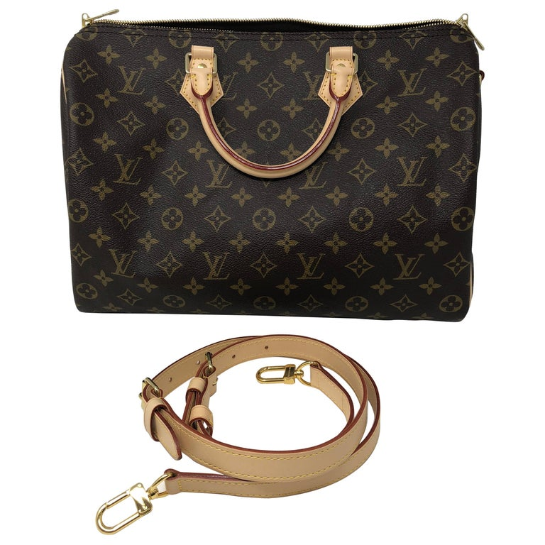 512db43f0439 Louis Vuitton Speedy 35 Bandouliere at 1stdibs
