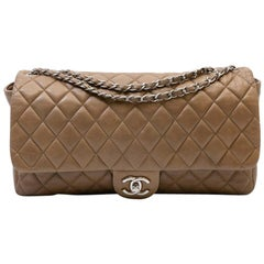 CHANEL Bag in Brown Soft Quilted Lambskin Leather