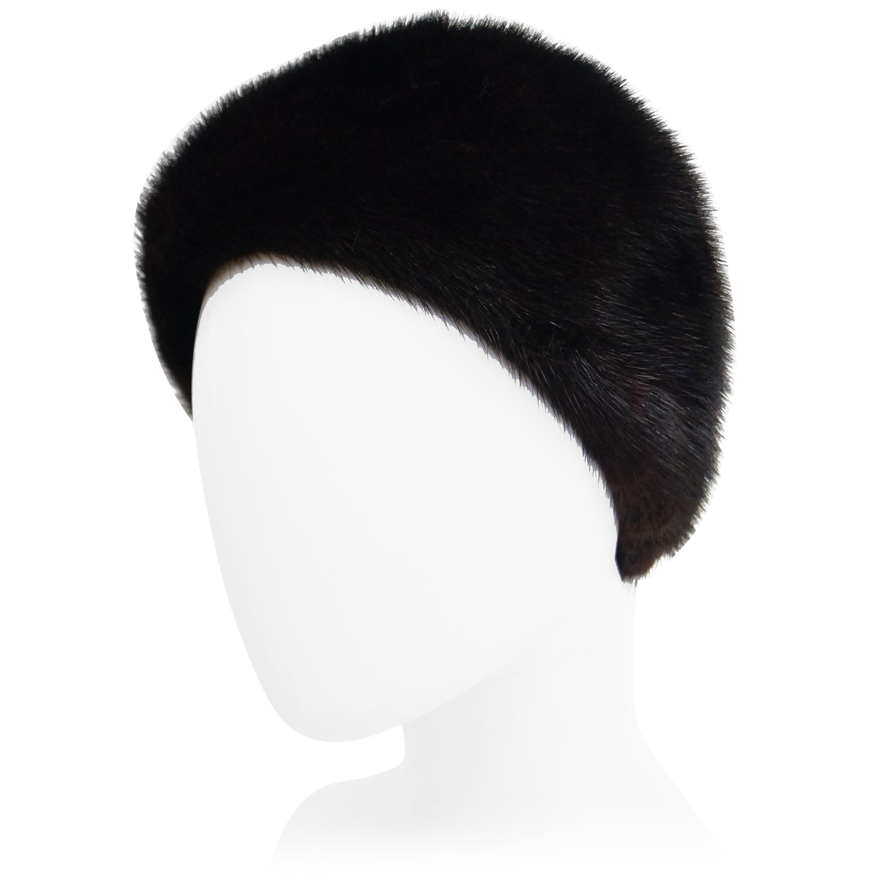 1704c656d28 Dior Mink Chapeau Fur Hat