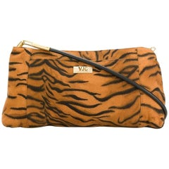 Versace Animal Print Shoulder Bag