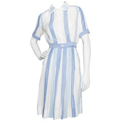 A 1960s Vintage Courrèges Cotton Two-piece Ensemble