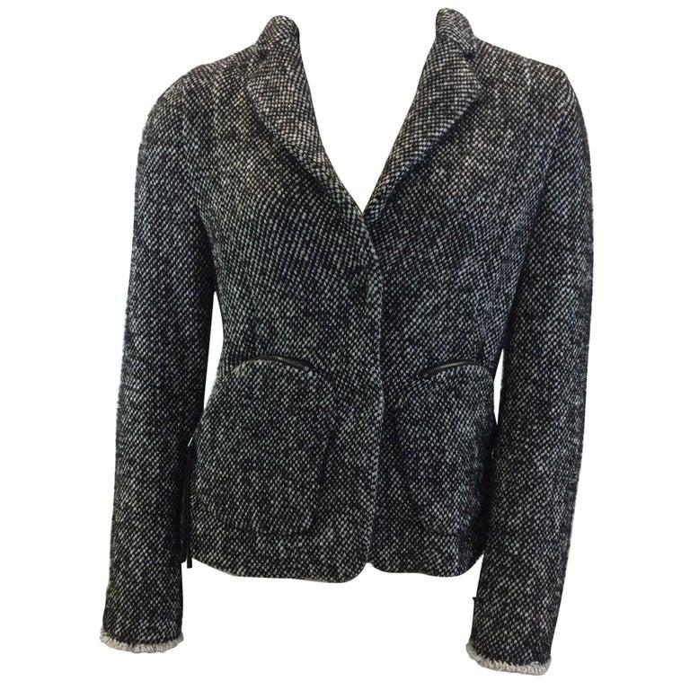 dorothee schumacher black and white jacket for sale at 1stdibs. Black Bedroom Furniture Sets. Home Design Ideas