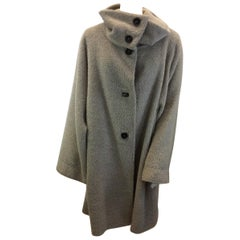 Marina Rinaldi Tan Wool Coat