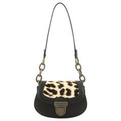 Bottega Veneta Umbria Shoulder Bag Leather with Calf Hair Small