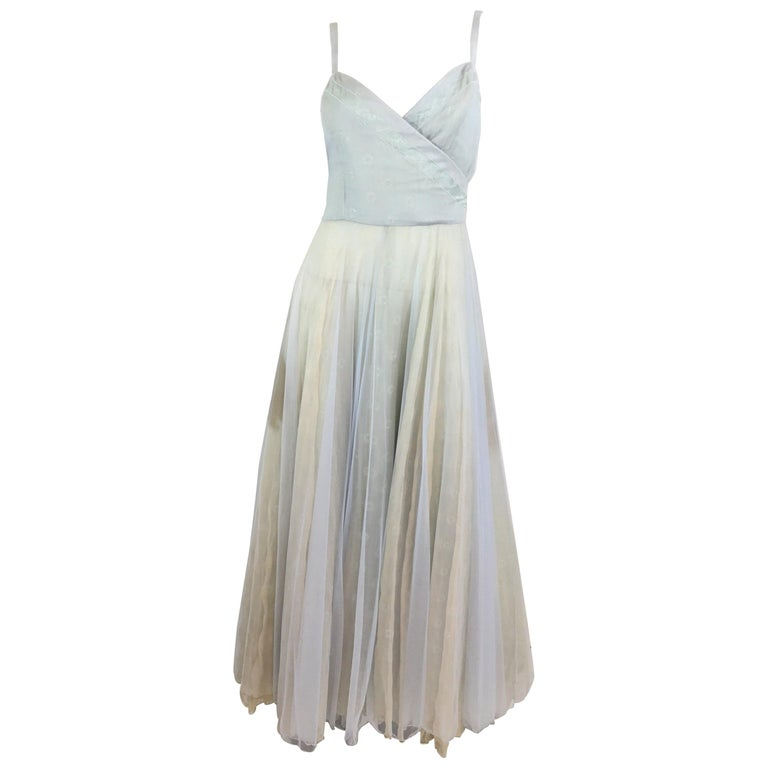 Emporio Armani Silk Tulle Gown For Sale at 1stdibs