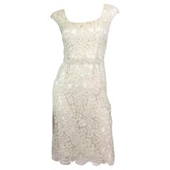 Dolce & Gabbana Lace Overlay Dress