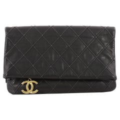 Chanel Thin City Clutch Quilted Calfskin Small
