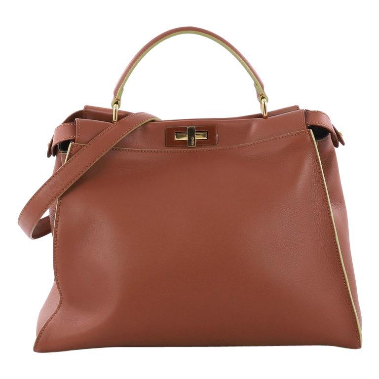 Fendi Peekaboo Essential Handbag Leather at 1stdibs 5e8e124ed2cf6