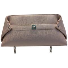 Akris Pale Rose Pink Leather Crossbody Bag