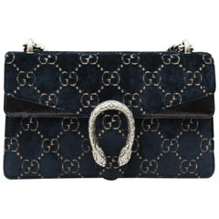 Gucci Shoulder Bag Dionysus Velvet GG