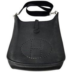 Hermes Black Evelyne GM bag