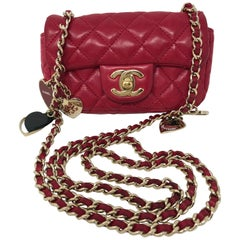 Chanel Extra Mini Crossbody Bag with Charms