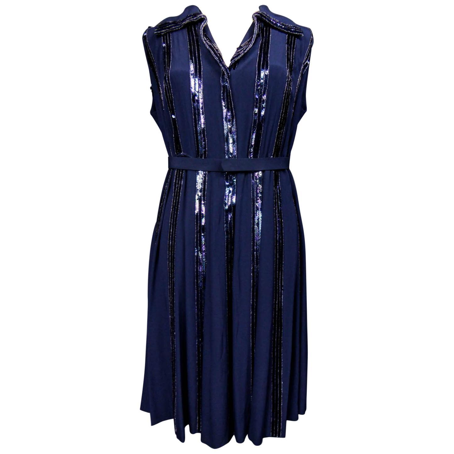 Worth Couture Dress, Circa 1960