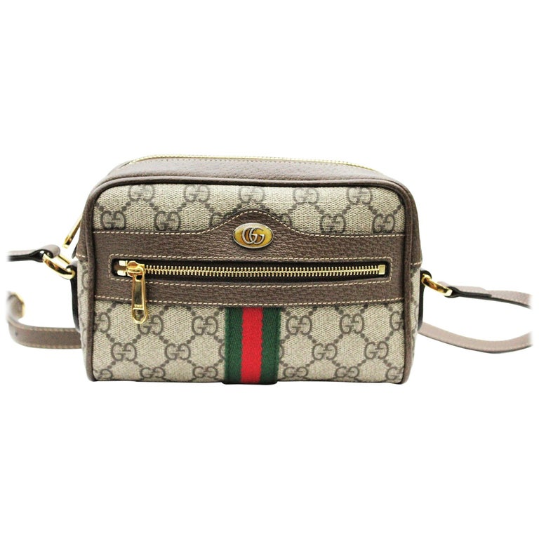 a0ebfe7b1cae81 Gucci Ophidia Mini Shoulder/Crossbody Bag 2018 For Sale at 1stdibs