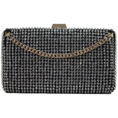 Valentino Crystal Embellished Chain Clutch