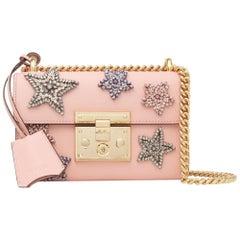 Gucci Padlock Small Embellished Leather Shoulder Bag