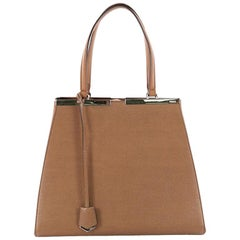 Fendi 3Jours Handbag Leather Large