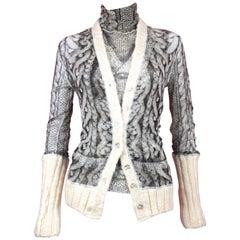 Jean Paul Gaultier Maille Knit Sweater Set