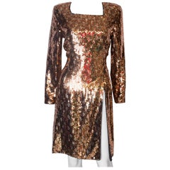 Mani Vintage Sequin Party Dress